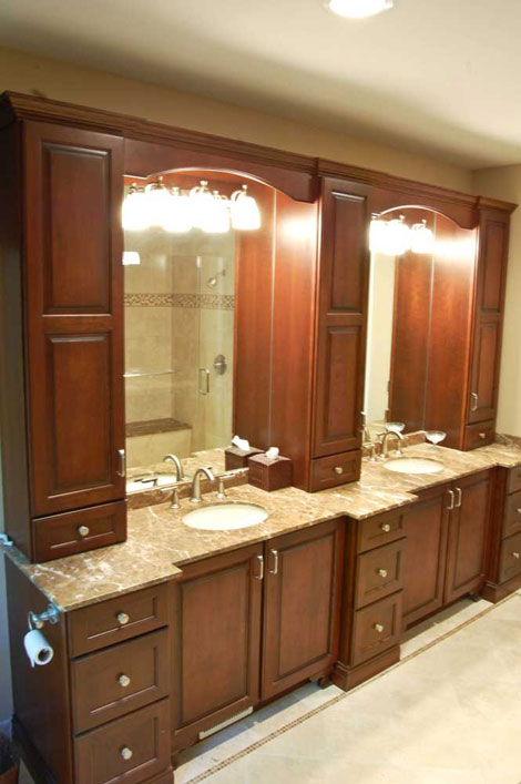 distinct cabinetry for discriminating tastes bathroom remodeling