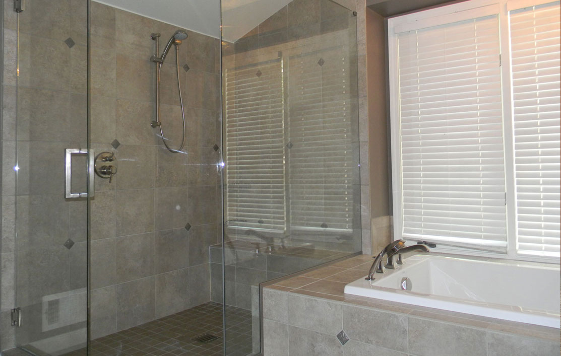 Bathrooms Without Tiles Kitchenmaster Bathroom Remodeling