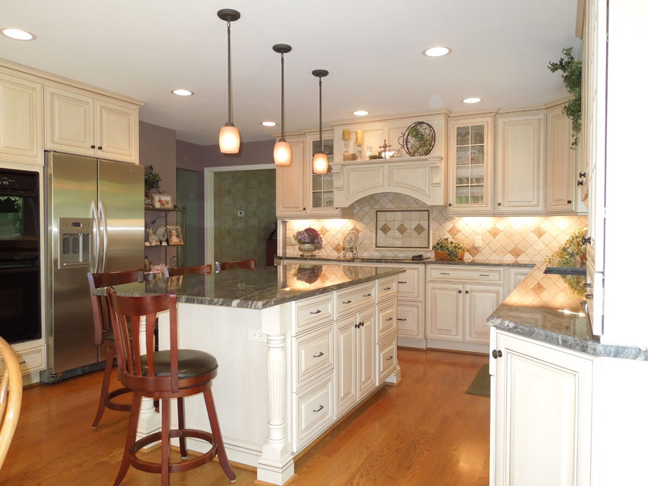 Kitchen Island With Columns kitchenmaster | customize a classy look for your kitchen.